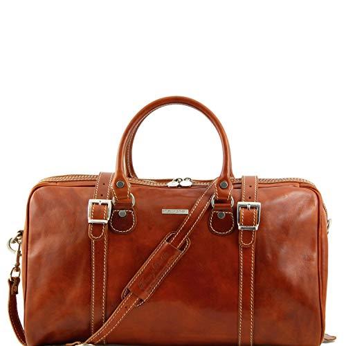 Tuscany Leather Berlin Sac de voyage en cuir - Petit modèle Miel