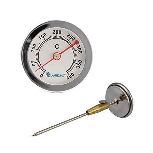 edelstahl trume u c grado horno lea bimetlico y horno horno barbacoa termmetro analgico dimetro de mm y cm de largo