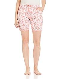 Jockey Women's Modal Shorts (RX10-0103-RL055_Multicoloured_L)