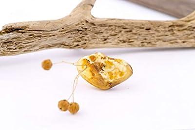 Pendentif ambre de Baltique naturel 100%