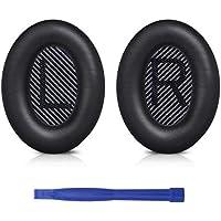 SoloWIT® Professional Bose QC35 Almohadillas de Repuesto para Auriculares Bose QuietComfort 35 (QC35) & QuietComfort 35II (QC35 II)