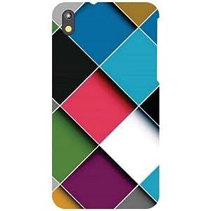 HTC Desire 816 Back Cover - Block Print Designer Cases
