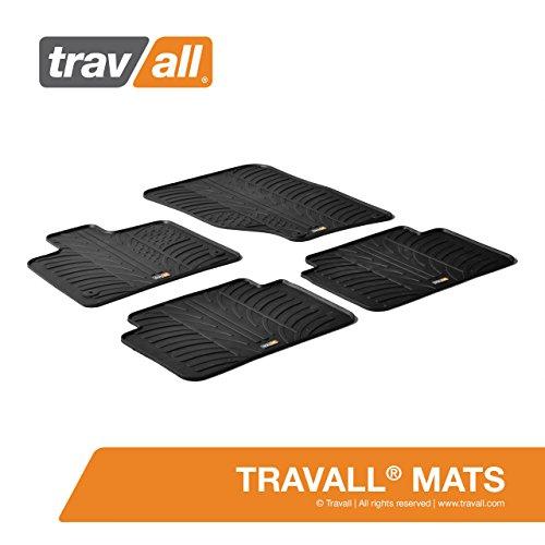 Travall® Mats Gummifußmatten - Original Travall® Zubehör TRM1119 - Allwettermatten nach Maß
