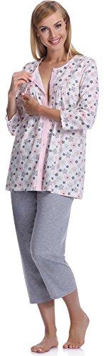Italian Fashion IF Pyjama Femme Azalia 0222 Saumon