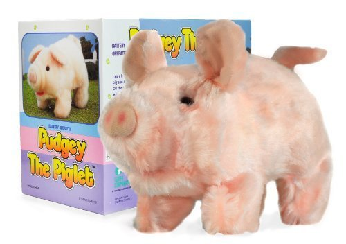 "Moving Animal Joy ""Pudgey Piglet"" The Walking, Oinking, Baby Pig"