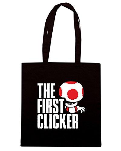 T-Shirtshock - Borsa Shopping TGAM0073 The First Clicker Nero
