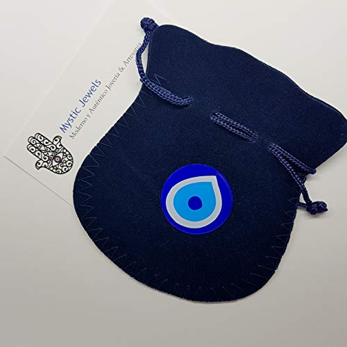 Imagen de mystic jewels  pulsera con perlas mayorica macrame hecho a mano black  alternativa