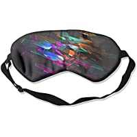Eye Mask Eyeshade Colorful Debris Sleep Mask Blindfold Eyepatch Adjustable Head Strap preisvergleich bei billige-tabletten.eu