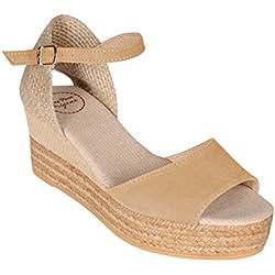 Sandalette DONNA beige Gr. 40 - (DONNA BEIGE-ECRU GR. 40)