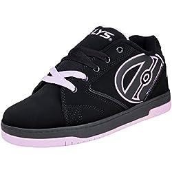Heelys Propel 2.0, Chaussures avec 1 Roue Fille, Multicolore (Black/Lilac), 39 EU