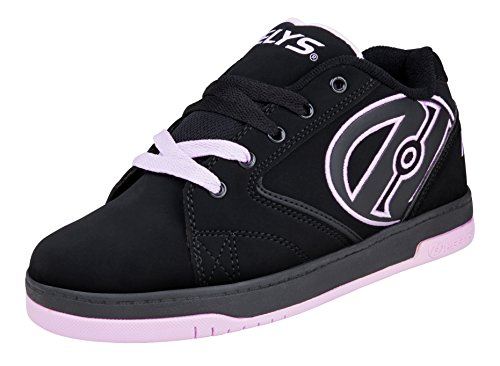 Heelys M&AumlDchen Propel 2.0 770516 Lauflernschuhe Sneakers, Black/Lilac, 32 EU / 13 UK