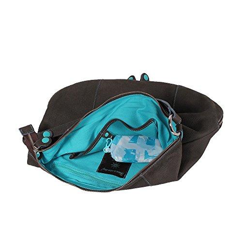 GABS Handtasche Frau NIVES-I16 FRFR BAG TRASF.FRANCO DAV / DT NUSSBAUM Noce