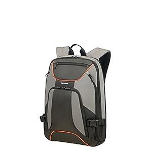 "41s4DbAdfRL. SS300  - Samsonite Kleur - Backpack for 15.6"" Laptop 0.8 KG Mochila tipo casual, 44 cm, 18 liters, Gris (Grey/Anthracite)"