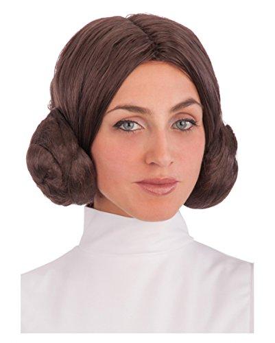 Leia Scifi Prinzessin Frisur Perücke für dein Sience Fiction (Frisuren Prinzessin Leia)