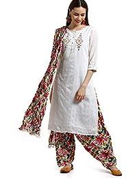 Srishti by FBB Floral Print Patiala Salwar