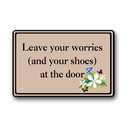 Doormat No.01 Haute qualité et de Nouveaux Mode Oubliez Vos soucis (et Vos Chaussures) à la Porte Paillasson