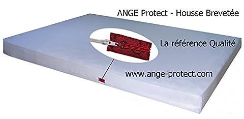 anti punaise de lit - Housse de matelas Ange Protect 80/90 x 190/200 x 20