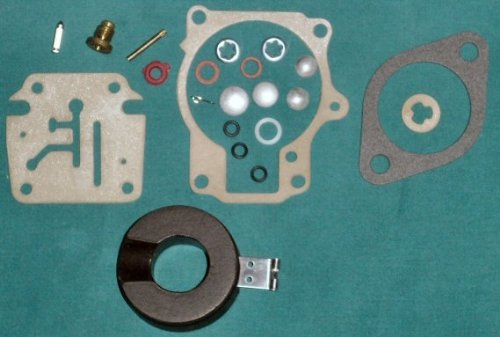 Carburetor repair kit for Johnson Evinrude 18 - 75 HP replaces 396701 and flotation includes.