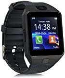 #5: Premsons Bluetooth Smart Watch Wrist Watch Phone With Camera & Sim Card,Loud Speaker,MIcrophone,Touch Screen,Multi-Language,Compatible With Android Ios Mobile Supports Apps Like Facebook,Whatsapp,Qq,Wechat,Twitter,Time Schedule,Read Message Or News,Sports,Health,Pedometer,Sedentary ReMInd & Sleep Monitoring,