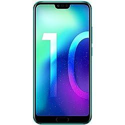 Honor 10 Smartphone Débloqué 4G (5,84 Pouces - 128 Go - Nano SIM - Android 8.1) Phantom Green [Version française]