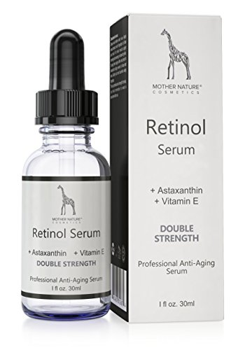Retinol Serum – Mother Nature® | hochdosiert | Anti-Aging Pflege für Haut, Gesicht, Dekolleté...
