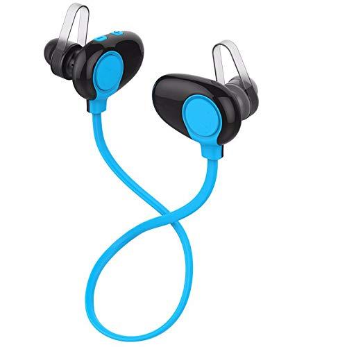 LRWEY Bluetooth-Headset, 4.2 Bluetooth-Headset-Kopfhörer Drahtloses Kopfhörer-Mikrofon Sportkopfhörer, für iPhone, iPad, Samsung, Huawei, Tablet usw
