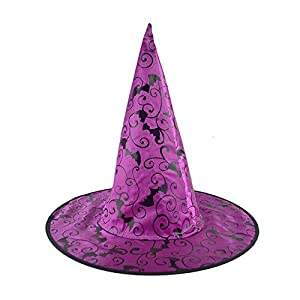 Cinnamou Sombrero de Bruja Mujer