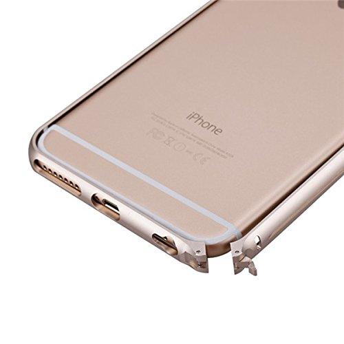 MOMAX Cadre Air Aluminium Ultra LŽgretŽ couvercle en mŽtal Bumper Case pour iPhone 6 or