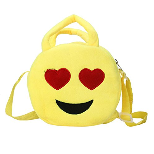 Imagen de bolso  para mujer sannysis mujeres emoticon bolso de hombro impresión emoji 02