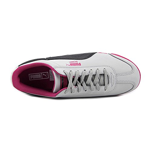 Puma Roma Iri Nbk Jr Synthétique Baskets Gray-Pewter-Pink