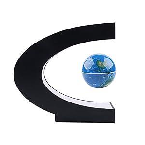 lyff Maglev en forma magnético Mapa del mundo Globe LED Lámpara de mesa planeta decoración para el hogar