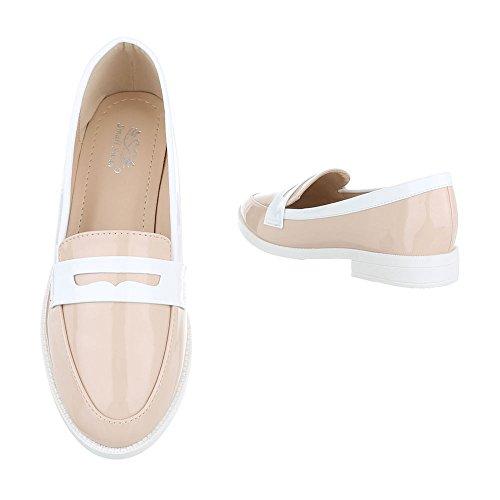 Pantofola Pantofola Slitta Ital-design Pantofola Pantofola Beige