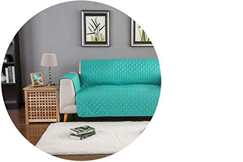 Gypsophila-shop Waschbarer Bezug für Hunde-Sofa, Couch-Überzug, abnehmbares Handtuch, Armlehne, Couch-Bezug, Hund, Haustiere, Einzel-/Zwei-/Dreisitzer, mintgrün, 3 Seater 190x195cm