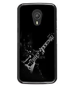 FUSON Designer Back Case Cover for Meizu M1 Note :: Meizu Note 1 (Love Music Heart Shape Guitar Tunes)
