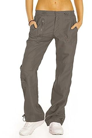 bestyledberlin - Pantalon - Cargo - Femme - marron - W44