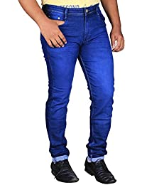 L,Zard Men's Slim Fit Jeans