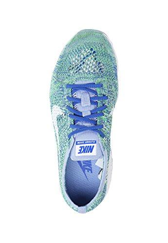 Nike Wmns Flyknit Zoom agilità, tennis donna chalk blue white racer blue 403