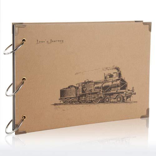 Flylther 30 Blätter/60 Seiten DIY Fotohüllen für Mini 8 8+ 9 70 7s 25 26 50 90/Mobiler Fotodrucker Film - Zug