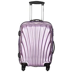 Goblin 04 Wheel Cabin Trolley Bag Aerolite 55 (Size-20 Inch, Purple)