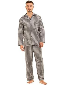 Hombre Haigman Impreso 100% algodón largo pijamas pijama Lounge wear