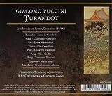 Puccini : Turandot. De Cavalieri, Cecchele, Scaglia.