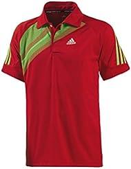 Polo de hombre de Adidas una toma [Z19401] rojo 1013, todo el año, hombre, color Rojo - rojo, tamaño 10 | XL