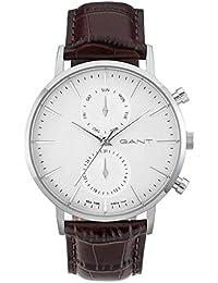 f912e5e43586 GANT Reloj analógico para Hombre de Cuarzo con Correa en Piel W11201