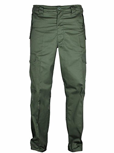 mens-cargo-combat-army-military-camouflage-camo-work-trousers-29-leg-32-leg-30w-x-32l-green