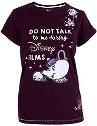Camiseta Morada Tetera Sra. Potts Disney
