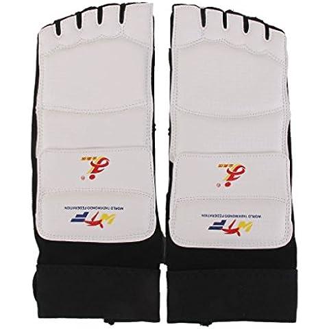 1 Par Protector Almohadillas de Pie para Taekwondo Karate Boxeo XS