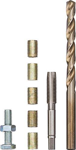 Vigor Reparatur-Gewindehülse M6x1,00x12mm V4213 ∙ Schlüsselweite: M6 ∙ Anzahl Werkzeuge: 5