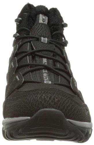 Salomon Elbrus WP 108751 Herren Sportschuhe - Walking Schwarz (Black/Black/Detroit)