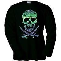 Camiseta de Los Goonies Bandera Pirata manga Larga (Talla: TALLA-XXL) - Cosmética y perfumes - Comparador de precios
