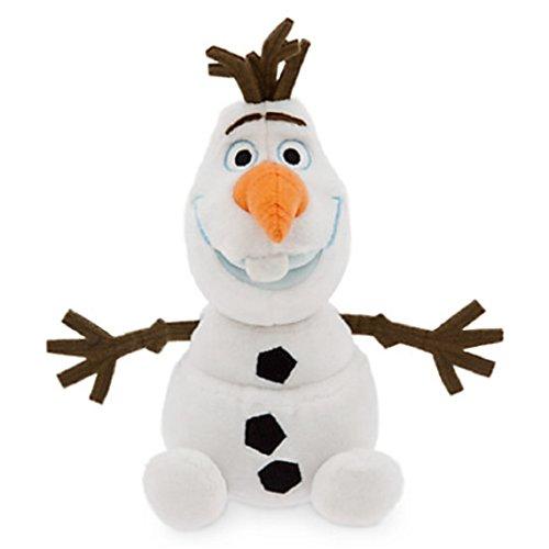 Disney store olaf 20cm piccolo originale mini pupazzo di neve frozen fever il regno di ghiaccio
